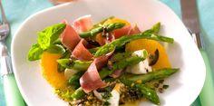 Salade d'asperges à l'orange