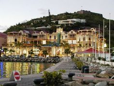 Marigot, the French capital.