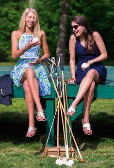 Classy Girls Wear Pearls: Polo Classic