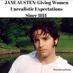 "1 Likes, 2 Comments - Mr Darcy Daily (@mrdarcydaily) on Instagram: ""Thanks, Jane Austen! ❤️"""