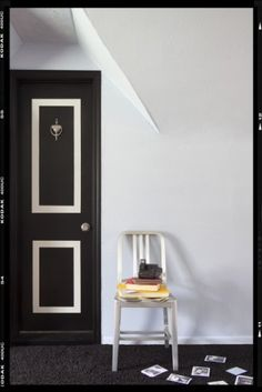 Easy DIY project turns contractor-grade, hollow-core door from eyesore to showstopper: