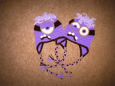 Despicable Me Evil Minion Crochet Hat by TheNixtBestThing on Etsy, $20.50