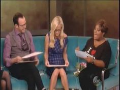 Donnie Wahlberg & Jenny McCarthy on The View Donnie And Jenny, Jenny Mccarthy, Donnie Wahlberg, Copyright Infringement, Actors, People, Collection, People Illustration, Folk