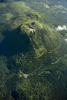 Puy de Dôme. Auvergne. France.