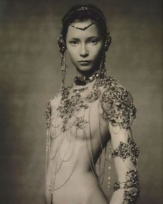 Paolo Roversi, fashion photographer. When I was younger (before the internet was the norm) I obsessively collected magazine cutouts. It was a way to be aware and explore what sort of images I was naturally drawn to. It helped me develop that certain taste for imagery that excited me. I've always been somewhat reserved and shy, but when it came to knowing what I like, I was bold, confident, and fearless. I think that's important. #paoloroversi ( post by @audkawa )