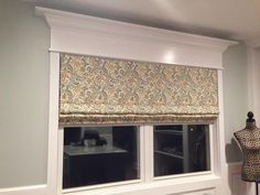 """Our customer said: """"I have 5 of these roman shades in our house already. When I ordered this latest blind, I was a bit concerned because there would be seams in this one due to the width and I had picked a patterned fabric. I could not have been happier when I opened the box because you can barely tell where the seams are. They did such a nice job of matching up the fabric. And, as usual, installation was a snap and the cordless feature is wonderful."""""""