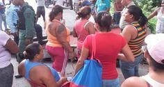 En horas de la tarde de este viernes se presentó una protesta por escasez de comida en la población de Choroní, municipio Girardot en el estado Aragua. Los