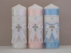 Classic Christening Candles