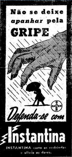 Propagandas Históricas | Propagandas Antigas | História da Publicidade: medicina