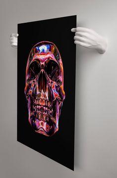 Handvas 3D Printed Hands to Hold Your Prints and Posters. handvas.com