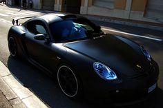 mat black