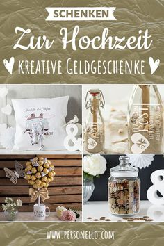 Gelgeschenke zur Hochzeit Are you wondering how you can combine your money gift with individual gift ideas and how you can design very personal gifts with engraving or with a photo? Wedding Gifts For Newlyweds, Newlywed Gifts, Xmas Gifts, Diy Gifts, Don D'argent, Father's Day Diy, Presents For Men, Mom Day, Experience Gifts