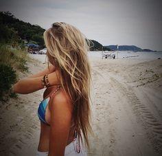 Summer Blonde Hair - Hairstyles How To Summer Hairstyles, Pretty Hairstyles, Summer Blonde Hair, Beachy Hair, Surf Girls, Hair Dos, Gorgeous Hair, Your Hair, Hair Beauty