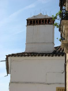 Chimena típica de Cañaveral, pueblo que se encuentra en la Ruta de las Chimeneas.