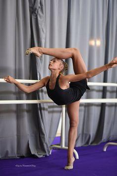 Aleksandra Soldatova (Russia), backstage European Championships (Holon) 2016