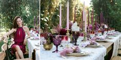 The actress feted her birthday in style with a summer solstice-themed party at her LA home.
