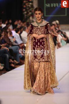 Suffuse by Sana Yasir Mughal at PFDC Loreal Paris Bridal Week 2015