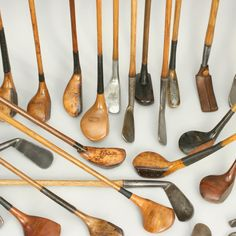 Vintage golf clubs // Pipeline Marketing