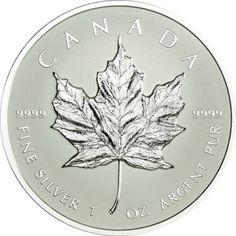 5 Dollar Silber Maple Leaf - Bullion Replikat PP
