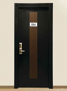 Check out my pictures for Cipriani's Hotel Door - so Gucci-like and elegant. Here's another - the Porta REI Linea Pelle.