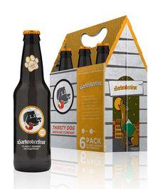 Seasonal Beer Branding : Thirsty Dog Packaging