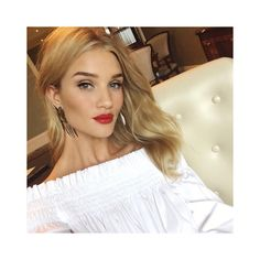 """169.7k Likes, 608 Comments - Rosie Huntington-Whiteley (@rosiehw) on Instagram: """"Red lip for @ugg Classic II launch event in Shanghai this morning!! #TheNewClassic"""""""