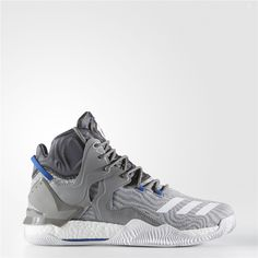 c0b09d5ddd2 Adidas D Rose 7 Shoes (Charcoal Solid Grey   Running White Ftw   Solid Grey