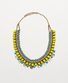 Threaded Charm Necklace