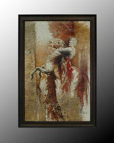 John Richard 56X80 ''Fabian'' Greco Roman Horse