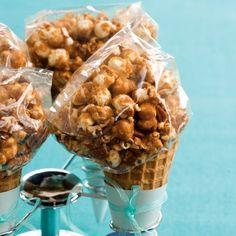 Salted caramel popcorn #recipe