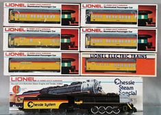 Lionel Chessie Steam Special train set
