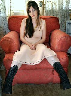 heavens pink crochet dress~  SOLD