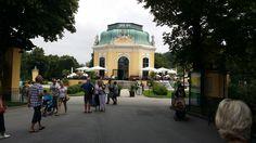Café Restaurant Kaiserpavillon  Schloß Schönbrunn Die kaiserliche Sommerresidenz