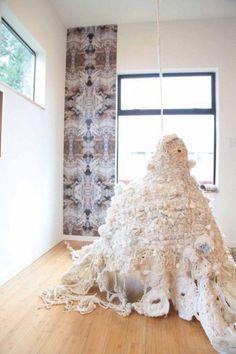 Photographic Work by Crochet Artist Mandy Greer Modern Crochet, Crochet Art, Learn To Crochet, Textile Fiber Art, Textile Artists, Textiles, Weaving Art, Love Images, Wedding Vendors