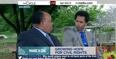 MLK's Son Shocks MSNBC's Toure: Important for Blacks to be 'Engaged with the Tea Party'