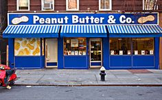 Peanut Butter and Company  I'm a fanatic for a classic PB sandwich  this place has over 29 different kinds...I must visit before I die...<3