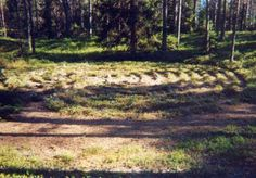 Labyrint på Stora Harskär, Ångermanland