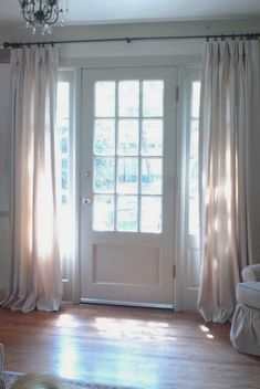 Image Result For Front Door With Screened Sidelight Curtains Side