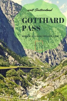 Would you like to visit a beautiful mountain Pass which would lead you to Italy or maybe you would like to do an ultimate Swiss mountain passes trip which includes Furka Pass, Grimsel Pass… More Places In Switzerland, Visit Switzerland, European Destination, European Travel, Travel Around The World, Around The Worlds, Travel Destinations, Travel Tips, Mountain Pass