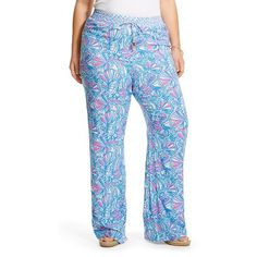 4ac7846deff84 Lilly Pulitzer for Target Women s Plus Size Palazzo Pant - My Fans Palazzo  Pants Plus Size
