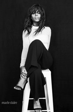 Kerry Washington in the April 2015 issue of Marie Claire. More beautiful photography & photo shoot poses for your inspiration | From Monica Hahn Photography
