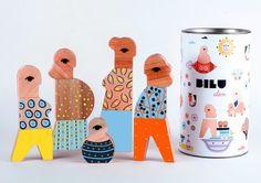 Clan: Geometric Toys by Bilu | Inspiration Grid | Design Inspiration