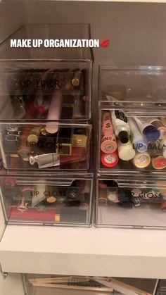 Bathroom Organization, Makeup Organization, Bathroom Ideas, Make Up Storage, Storage Ideas, Declutter, Organize, Beauty Room, Guest Bath