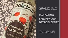 Spalicious Dry Body Spritz, a beautifully fragranced and quickly absorbed dry body oil. Read our full product review here. Dry Body Oil, Product Review, Spa, Fragrance, Life, Food, Eten, Meals, Perfume
