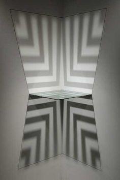 Stairwell Starwell corner sculpture by Sydney Cash