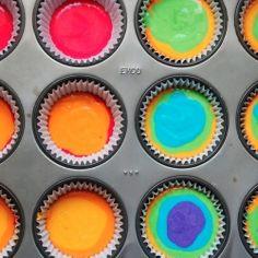 - How to Make Rainbow Cupcakes By TasteSpotting