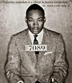 Injustice anywhere is a threat to justice everywhere. - Martin Luther King Jr. MzTeachuh: MLK Quote: #13