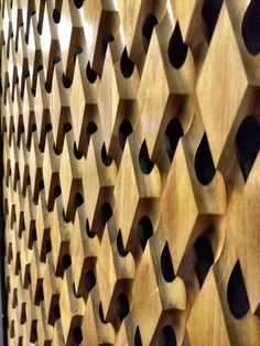 Hexagon Wall Panel Design   wallcandy