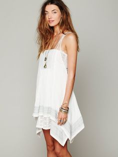 Free People FP ONE Embroidered Poncho Dress, $0.00