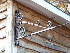 sign bracket or a plant hanger